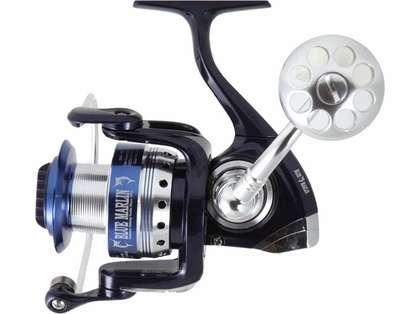 Blue Marlin BMF4500 Spinning Reel - Silver/Blue