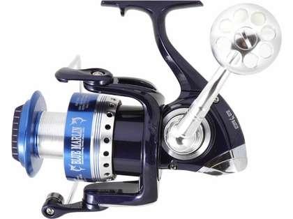 Blue Marlin BMF6000 Spinning Reel - Silver/Blue