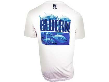 Bluefin USA Tuna Stampede Polycotton Short Sleeve Tee
