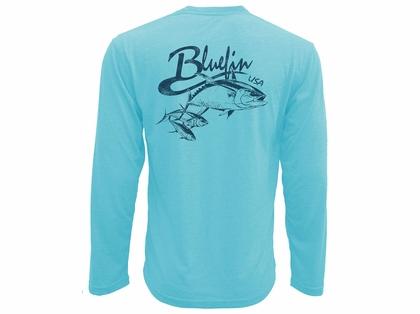 3312fc08b468 Bluefin USA Vintage Tuna School Technical Long Sleeve Shirt ...