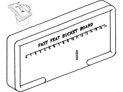 Boone Fast Feat Bucket Board