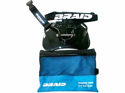 Braid 30181 Dolphin Stealth Carbon Fiber Finish Belt