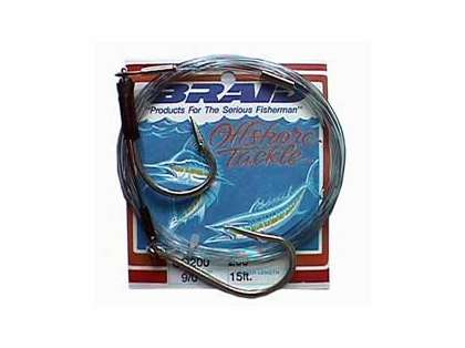 Braid Cable Double Hook Rig 15 ft. 200