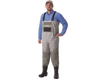 Caddis Deluxe Bootfoot Waders w/ Eco Smart II Sole - 13