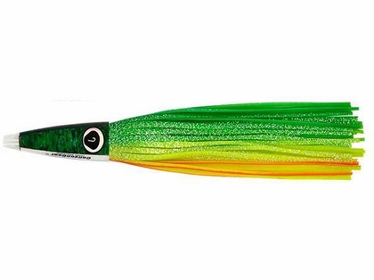 Canyon Gear Tuna Machine Lure Clear Chartreuse Holo/Rainbow/Rainbow