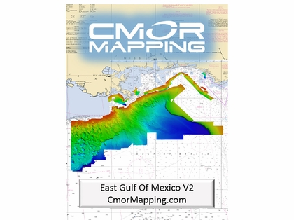 CMOR East Gulf of Mexico Mapping f/ Simrad, Lowrance, B&G & Mercury