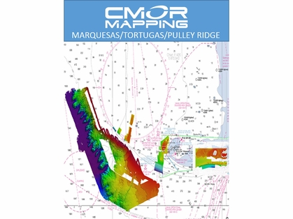 CMOR Mapping Marquesas, Tortugas, Pulley Ridge Mapping f/ Raymarine
