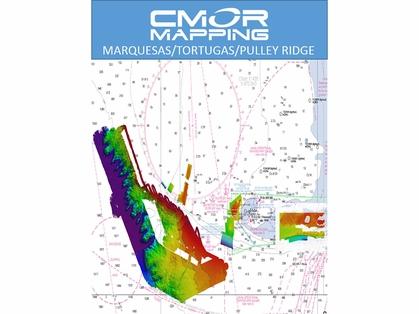 CMOR Marquesas, Tortugas, Pulley Ridge Map f/ Simrad, Lowrance, B&G