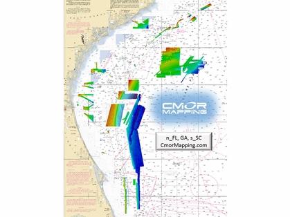 CMOR North Florida, Georgia & South Carolina Map f/ Simrad, Lowrance
