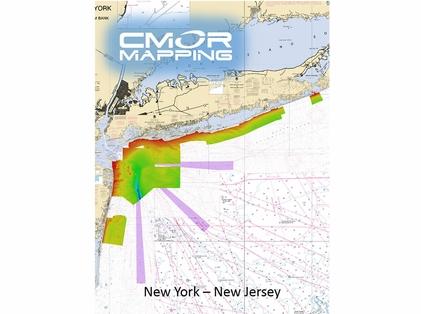 CMOR Mapping NY & NJ Mapping f/ Raymarine