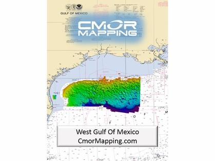 CMOR Mapping West Gulf of Mexico Map f/ Simrad, Lowrance, B&G, Mercury