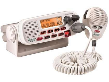 Cobra MR F45-D Fixed Mount Class D Submersible VHF Radio - White