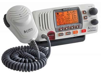 Cobra MR F77W Fixed Mount Class D VHF Radio - White