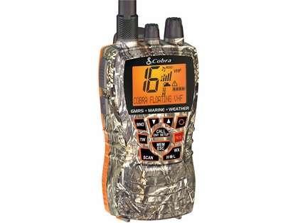 Cobra MR HH450 CAMO Dual VHF/GMRS Floating Handheld Radio - Camo
