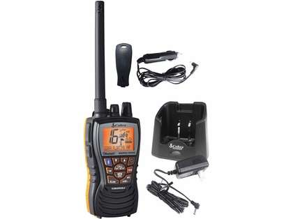 Cobra MR HH500 FLT BT Floating 6W VHF Radio w/ Bluetooth