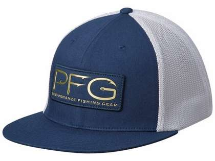 e0fdca2330e58 Columbia PFG Mesh PFG Hook Patch Flat Brim Hat