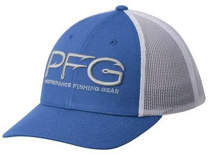 Columbia PFG Hook Mesh Ball Cap - Vivid Blue
