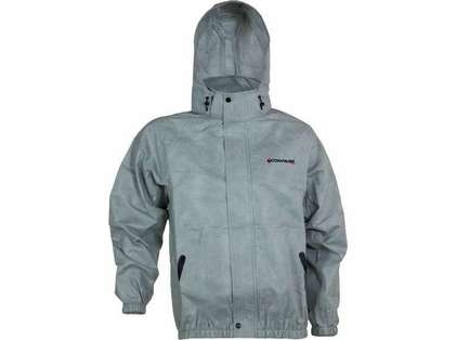 Compass360 AT23102-12 AdvantageTek Rain Jacket - Cloud Gray - Medium