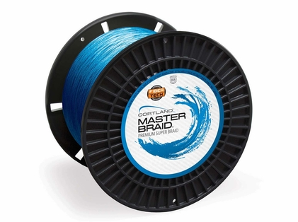 Cortland Master Braid Fishing Line - 20lb - 2500yd - Blue