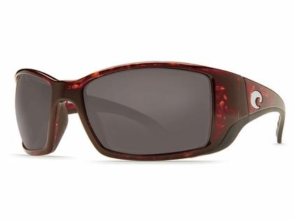Costa Blackfin Sunglasses - Tortoise/Gray