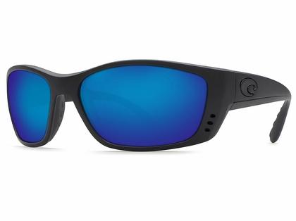 Costa Fisch Sunglasses - Blackout/Blue Mirror 580G