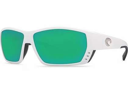 Costa Del Mar Tuna Alley Sunglasses 400G White Frame
