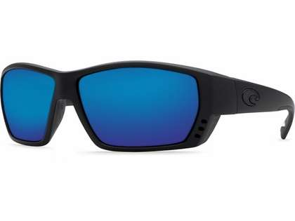 Costa Del Mar Tuna Alley Sunglasses - 580G Lenses - Blackout Frame