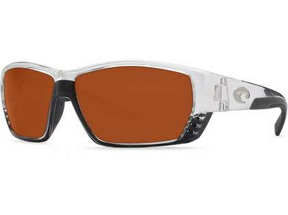 Costa Del Mar Tuna Alley Sunglasses - 580G Lenses - Crystal Frame