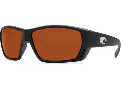 Costa Del Mar Tuna Alley Sunglasses 580 Glass Matte Black Frame