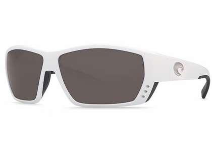 Costa Del Mar Tuna Alley Sunglasses - 580G Lenses - White Frame