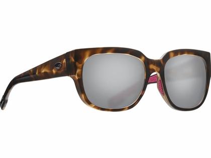 Costa Waterwoman Sunglasses - Matte Shadow Tortoise/Gray Silver Mirror