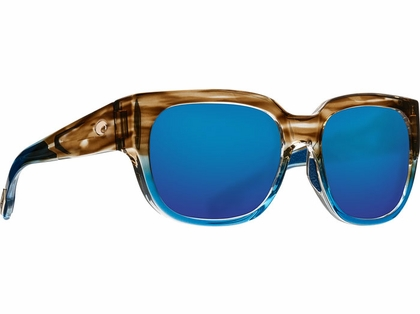 Costa Waterwoman Sunglasses - Shiny Wahoo/Blue Mirror