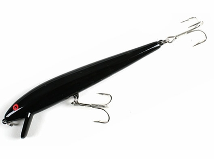 Cotton Cordell Red Fin Lure Black