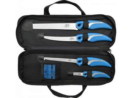 Cuda 6 piece Knife and Sharpener Set