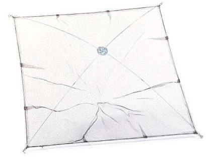 Cumings UMN-3'X3' Umbrella Minnow Net 1/8in Polyethylene Mesh