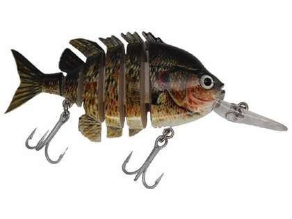 Daddy Mac Viper Sunfish 4'' Lures