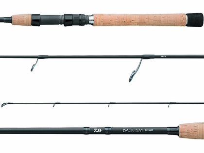 Daiwa BB76HXS-L Back Bay Spinning Rod - Long Handle