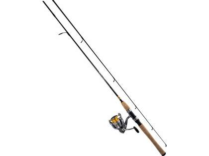 Daiwa CR25-3BI/G662M Crossfire Freshwater Spinning Combo - 6 ft. 6 in.