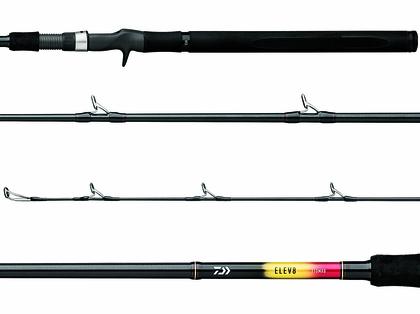Daiwa ELEV8 Jigging Rods