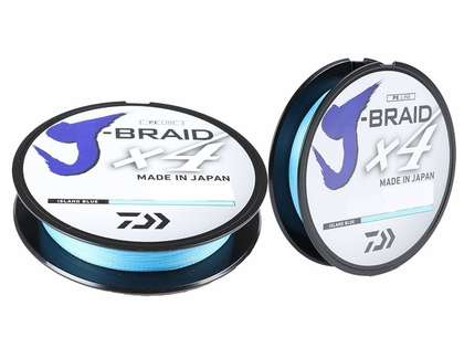 Daiwa J-Braid X4 Island Blue Line - 150yds