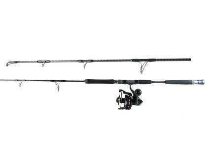 Daiwa SALTIGA8000DF Saltiga Dog Fight Jigging Combo