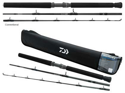 Daiwa Saltiga G Boat Travel Rods