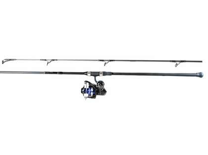 Daiwa SALTIGA5000 Saltiga Surf Shark Fishing Combo with Lures