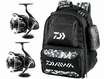 Daiwa Saltist Back Bay LT Spinning Reel Travel Package