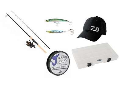 Daiwa Ultimate BG Combo Kit