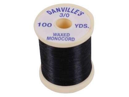 Danville's Waxed Monocord - Black