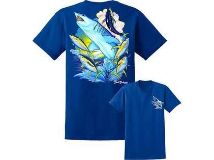 David Dunleavy DDM8022 Mako Shark Tee