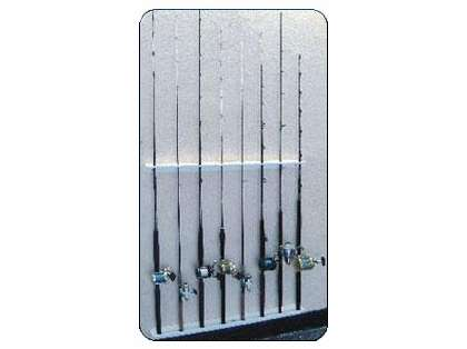 Deep Blue HR-24 Vertical Rod Rack - 24in - Holds 6 Rods
