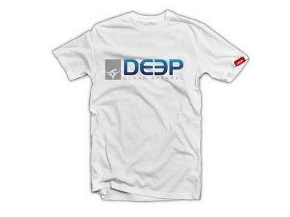 Deep Ocean Deep T-Shirt White