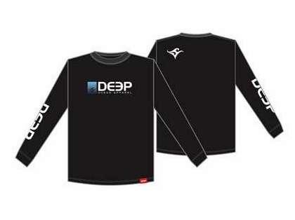 Deep Ocean Long Sleeve T-Shirt Black